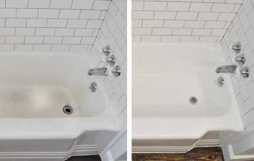 Чем чистить ванну от налёта, что поможет и что