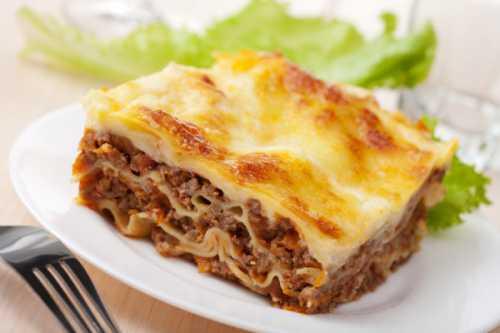 Рецепт лазаньи с сыром, секреты выбора