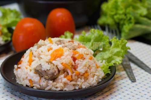 Рецепты риса с мясом  в мультиварке, секреты