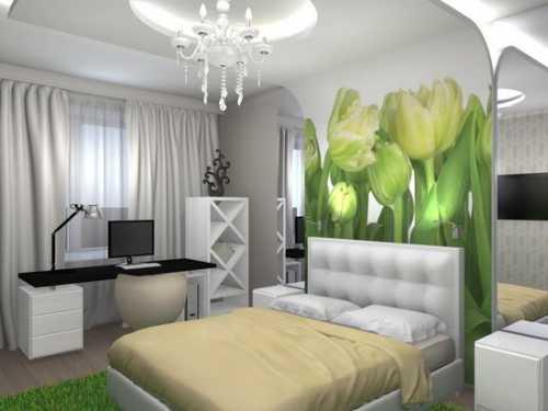 Гармония и цвет спальни