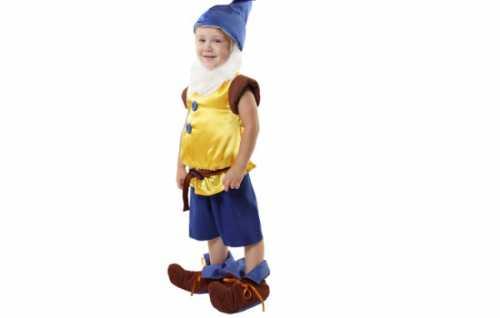 Изготовление костюма гнома для мальчика  своими