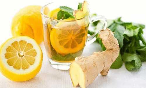 Имбирь с лимоном для похудения
