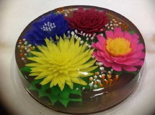 Рецепт, который никого не оставит равнодушным: цветочное желе