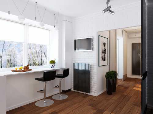 35 проектов кухонь в маленьких квартирах