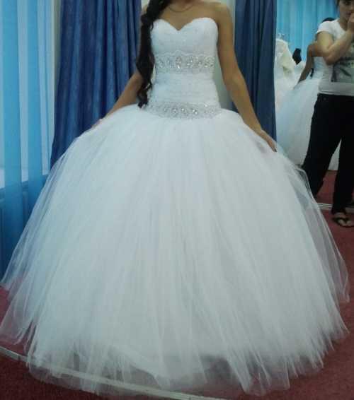 Очень красивые пышные свадебные платья