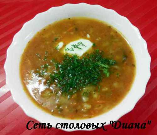 Первые блюда супы