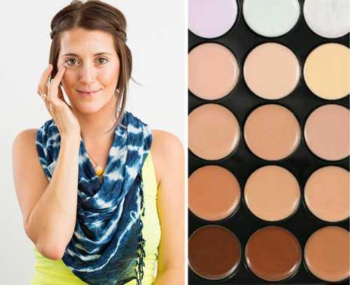 Совет идеальным можно считать тональный крем, когда цвет кожи на щеке не отличается от цвета на шее