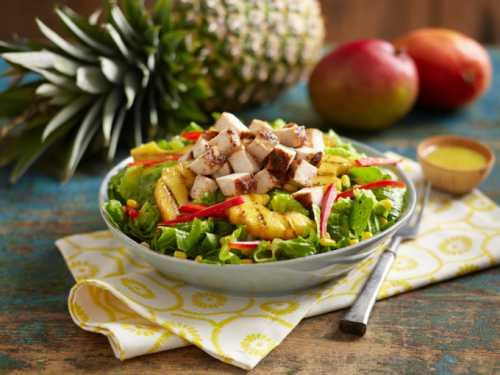 Узнай как приготовить салат с копченой куриной