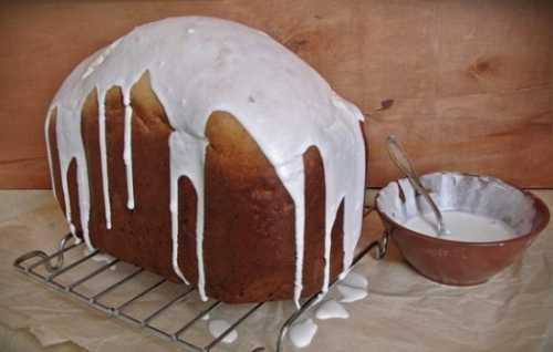 Готовим кулич в хлебопечке